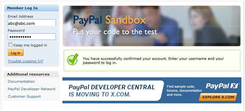 how to get a sandbox account for paypal