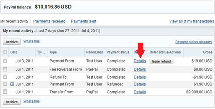 how to get your refund from paypal